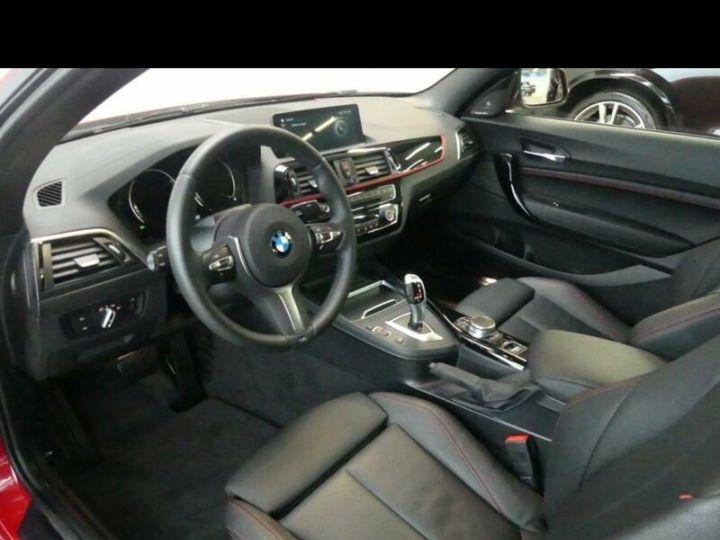 BMW Série 2 220d Cabrio  ROUGE PEINTURE METALISE  Occasion - 7