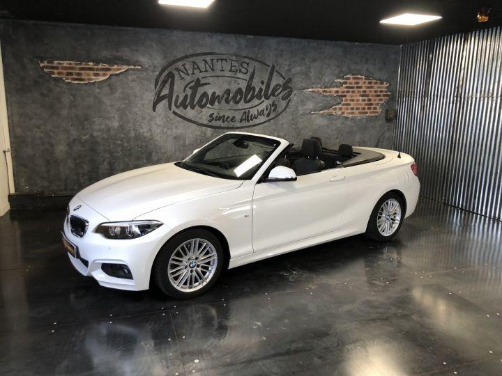 BMW Série 2 220i pack M BLANC - 1