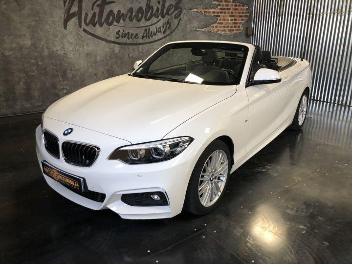 BMW Série 2 220i pack M BLANC - 2