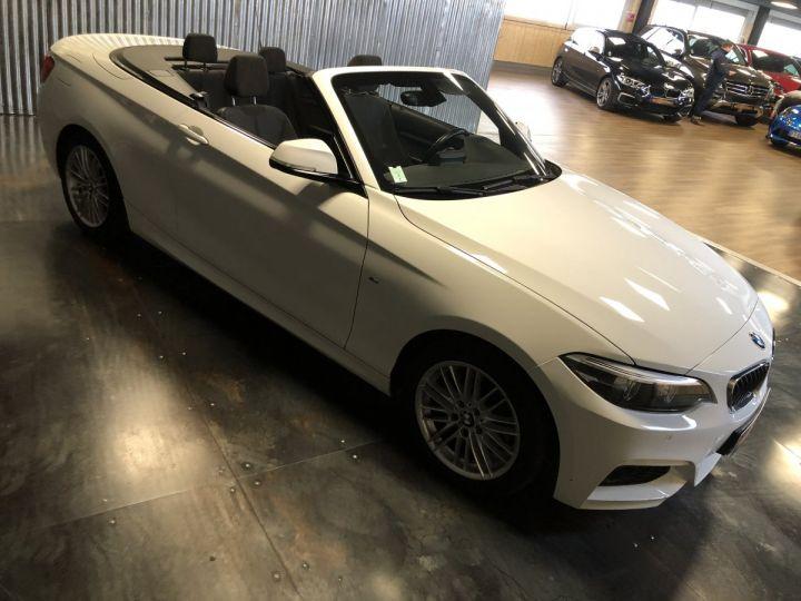 BMW Série 2 220i pack M BLANC - 3