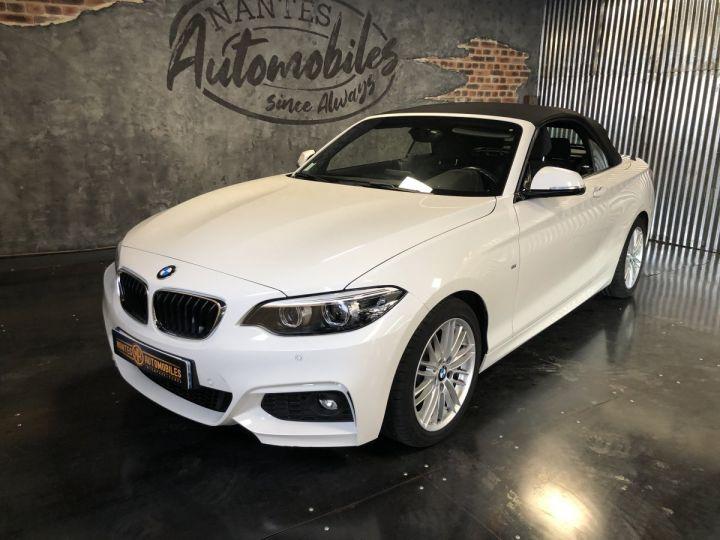 BMW Série 2 220i pack M BLANC - 6