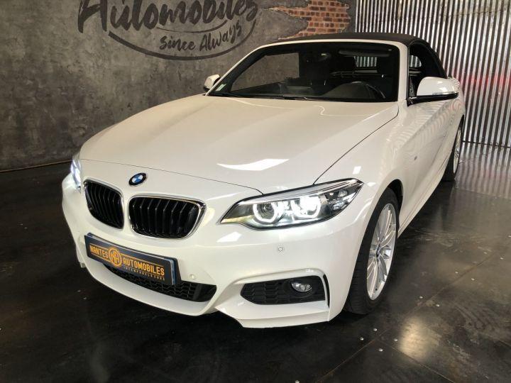 BMW Série 2 220i pack M BLANC - 9