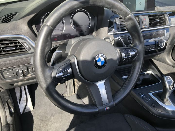 BMW Série 2 220i pack M BLANC - 14