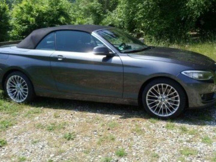 BMW Série 2 228i Cabriolet - 245cv - JA Breyton *Livraison & Garantie 12 mois* Gris - 5