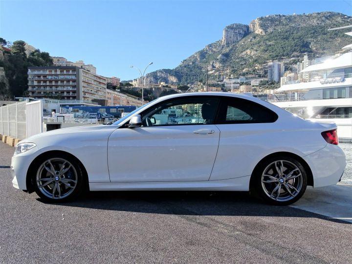 BMW Série 2 BMW M 235 IA COUPE 326 CV - MONACO BLANC - 4