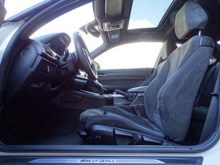 BMW Série 2 BMW M 235 IA COUPE 326 CV - MONACO BLANC - 6