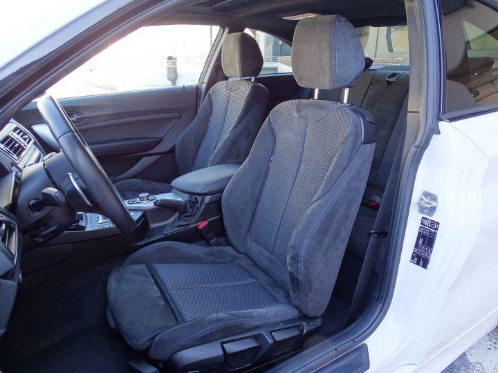 BMW Série 2 BMW M 235 IA COUPE 326 CV - MONACO BLANC - 7