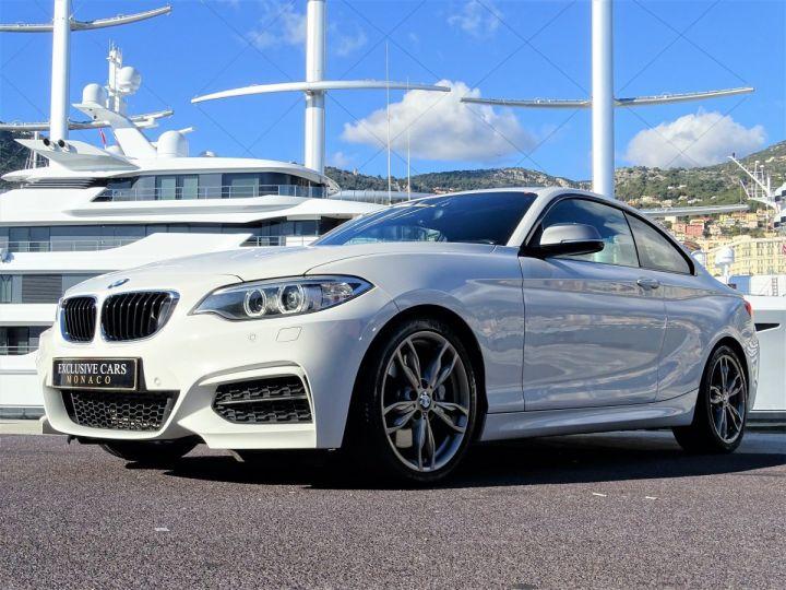 BMW Série 2 BMW M 235 IA COUPE 326 CV - MONACO BLANC - 12