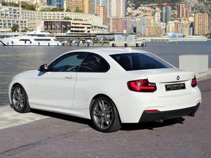 BMW Série 2 BMW M 235 IA COUPE 326 CV - MONACO BLANC - 18