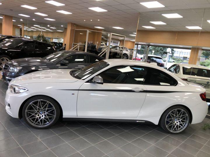 BMW Série 2 BMW M235I Blanc - 2