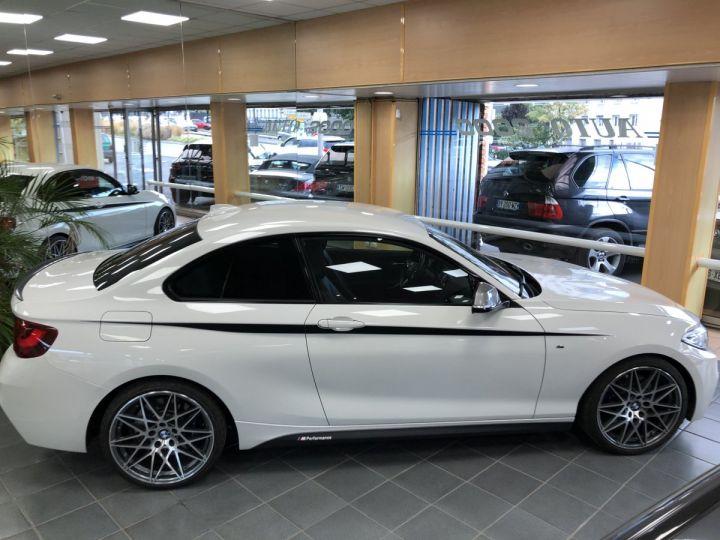 BMW Série 2 BMW M235I Blanc - 4