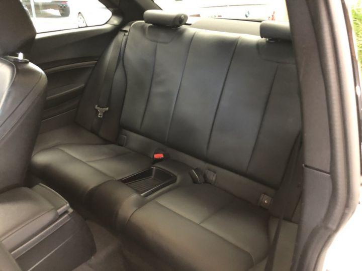 BMW Série 2 BMW M235I Blanc - 11