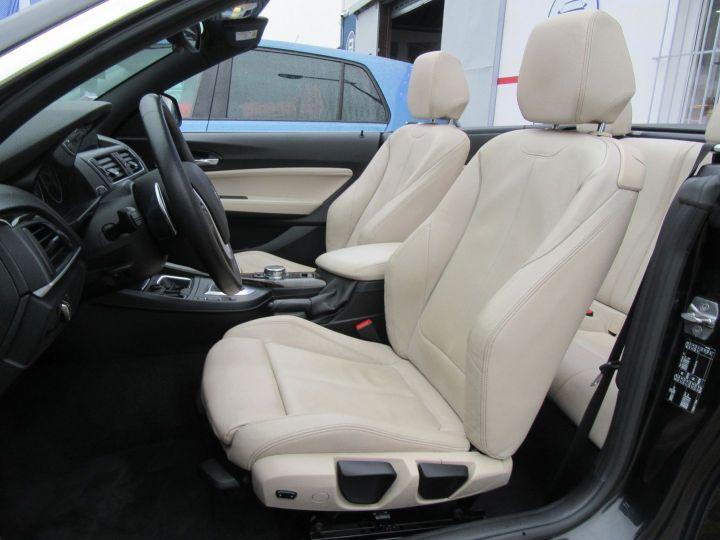 BMW Série 2 (F23) 220DA 190CH LUXURY Noir - 7