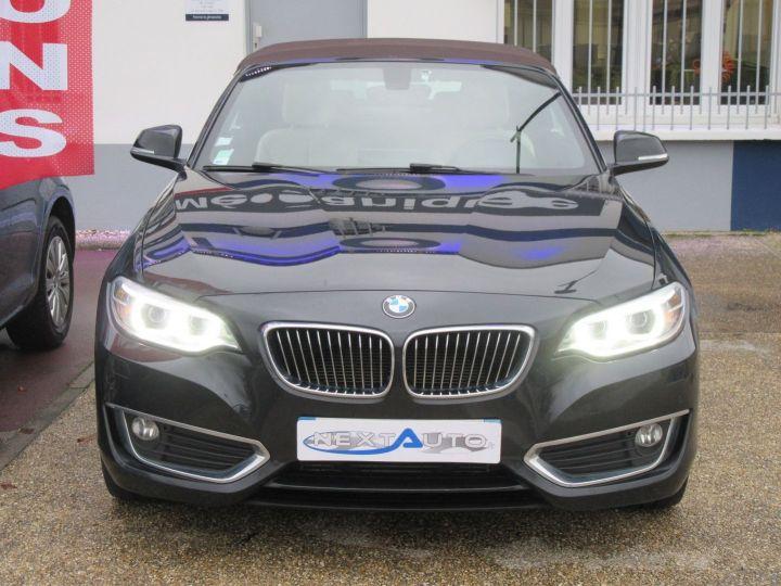 BMW Série 2 (F23) 220DA 190CH LUXURY Noir - 9