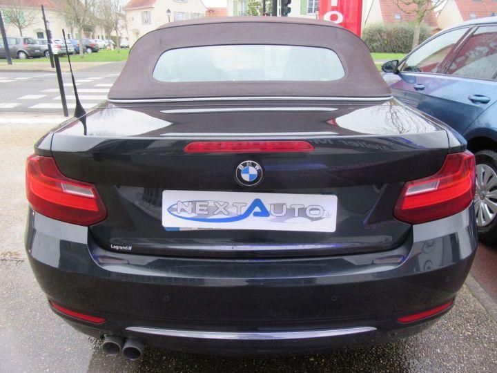 BMW Série 2 (F23) 220DA 190CH LUXURY Noir - 10