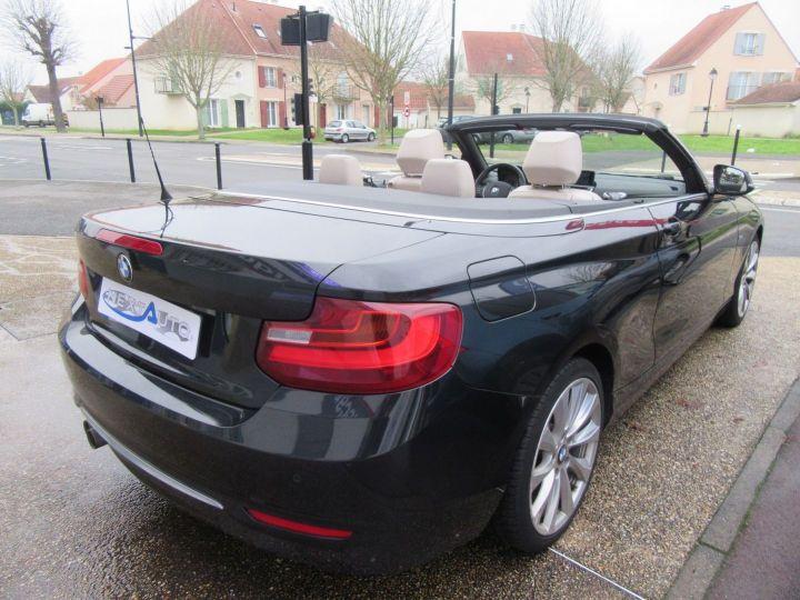 BMW Série 2 (F23) 220DA 190CH LUXURY Noir - 11