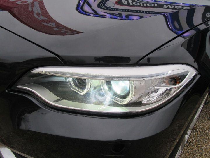 BMW Série 2 (F23) 220DA 190CH LUXURY Noir - 19
