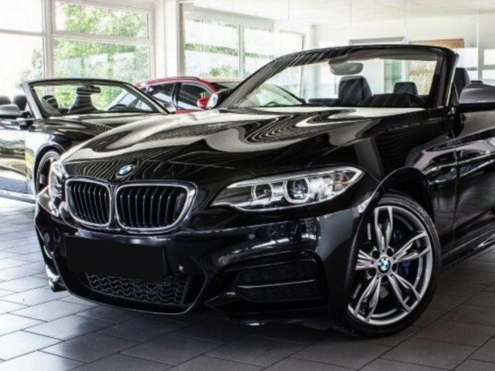 BMW Série 2 M 235I CABRIO XDRIVE Noir métallisé - 1
