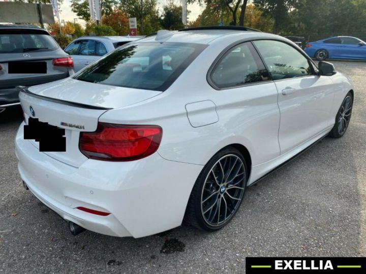 BMW Série 2 M240i xDrive Coupé M PERFORMANCE BLANC PEINTURE METALISE  Occasion - 2