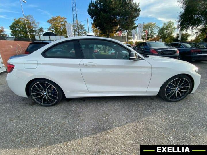 BMW Série 2 M240i xDrive Coupé M PERFORMANCE BLANC PEINTURE METALISE  Occasion - 3