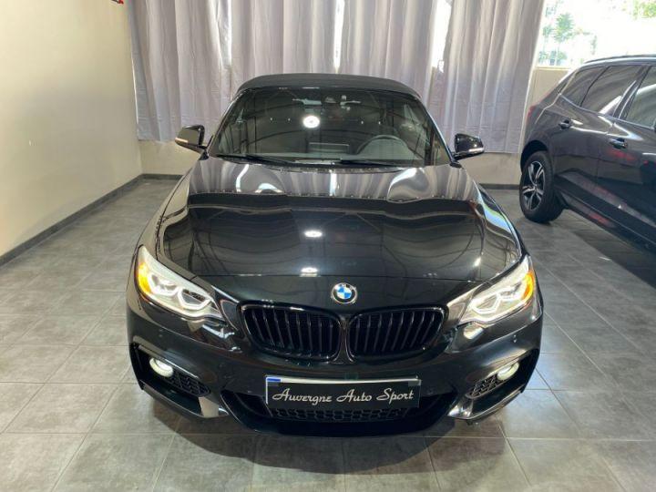 BMW Série 2 SERIE F23 CABRIOLET CABRIOLET 218D 150 M SPORT BVA8 NOIR - 2