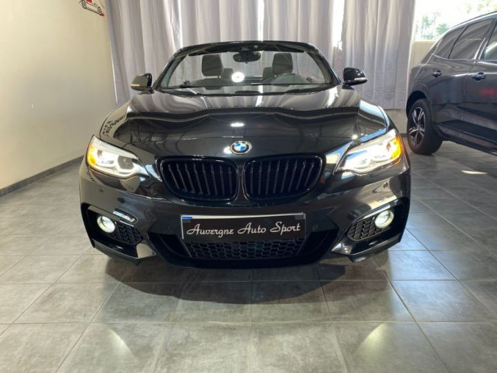 BMW Série 2 SERIE F23 CABRIOLET CABRIOLET 218D 150 M SPORT BVA8 NOIR - 4