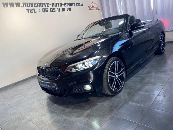 BMW Série 2 SERIE F23 CABRIOLET CABRIOLET 218D 150 M SPORT BVA8 NOIR - 5