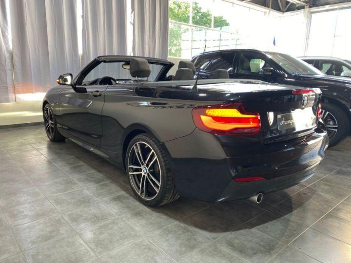 BMW Série 2 SERIE F23 CABRIOLET CABRIOLET 218D 150 M SPORT BVA8 NOIR - 8