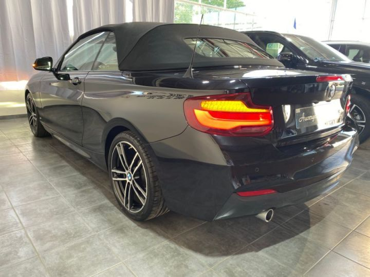 BMW Série 2 SERIE F23 CABRIOLET CABRIOLET 218D 150 M SPORT BVA8 NOIR - 10