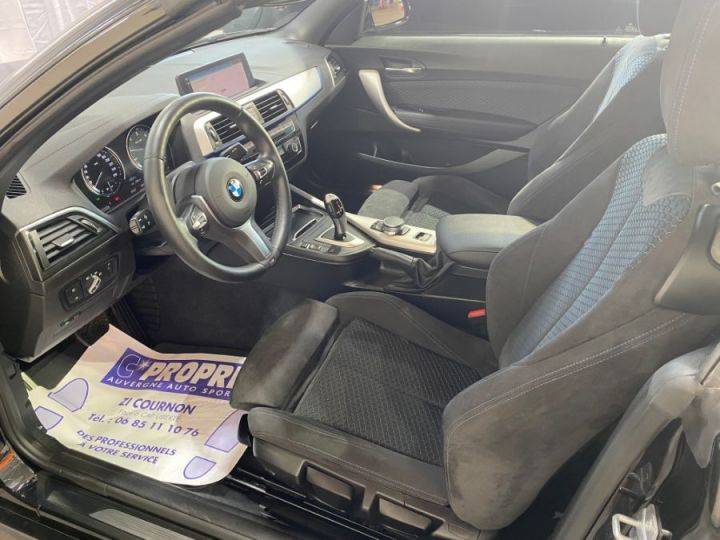 BMW Série 2 SERIE F23 CABRIOLET CABRIOLET 218D 150 M SPORT BVA8 NOIR - 11