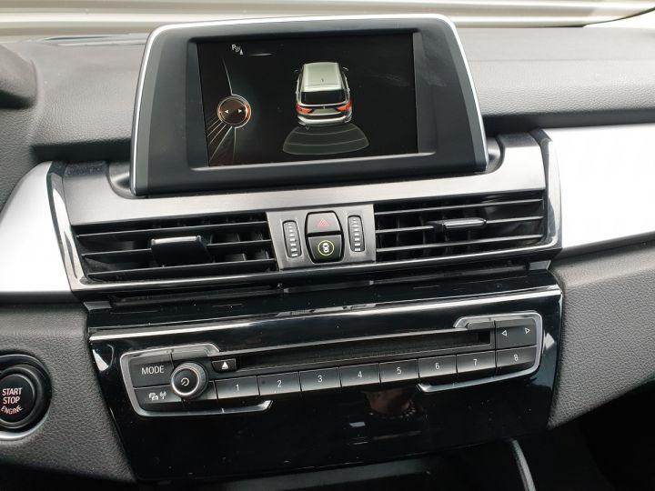 BMW Série 2 serie f46 grand tourer 216d business bva 7pl Gris Occasion - 12