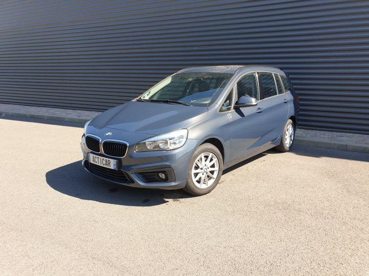BMW Série 2 serie f46 grantourer 216d business 7 pls bva Gris Occasion - 1
