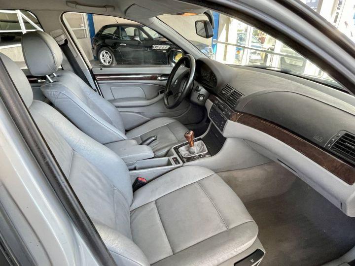 BMW Série 3 3 320 D 136cv Gris Clair - 13