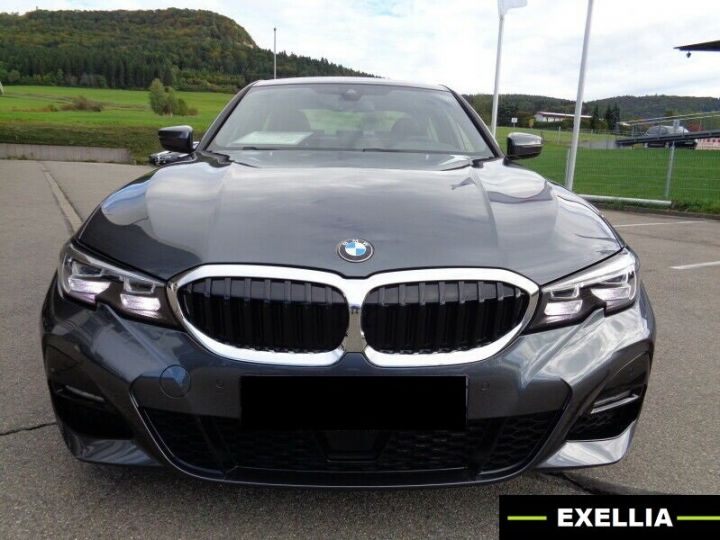 BMW Série 3 320D 190 AUTO PACK M SPORT GRIS MINERAL Occasion - 1