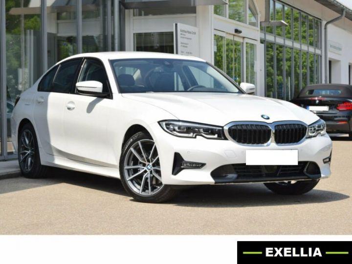 BMW Série 3 320D 190 EDITION SPORT BVA BLANC Occasion - 1