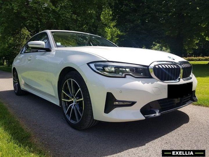 BMW Série 3 320d SportLine  BLANC PEINTURE METALISE  Occasion - 2