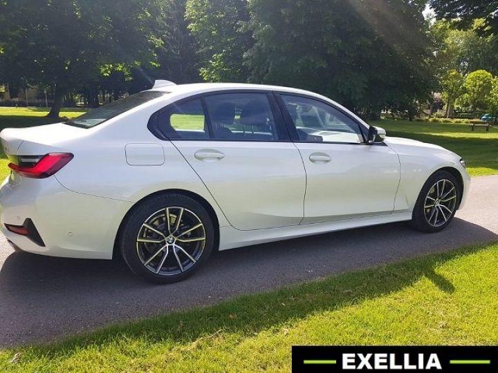 BMW Série 3 320d SportLine  BLANC PEINTURE METALISE  Occasion - 10
