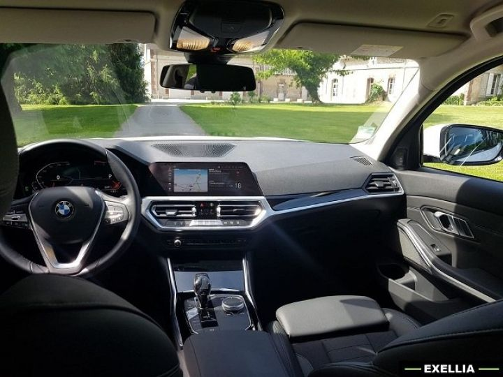 BMW Série 3 320d SportLine  BLANC PEINTURE METALISE  Occasion - 15
