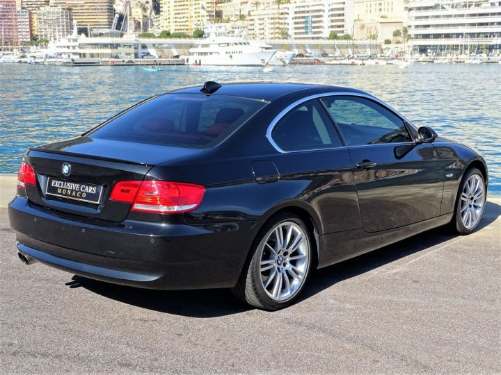 BMW Série 3 325 DA COUPE LUXE 3.0 6 CYL 197 CH - MONACO Black Sapphire Metal - 3
