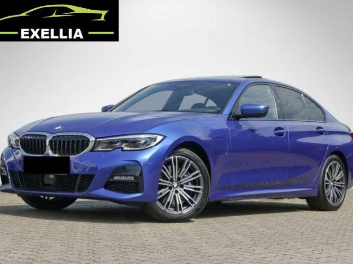 BMW Série 3 330 e M Sport  BLEU PEINTURE METALISE Occasion - 1