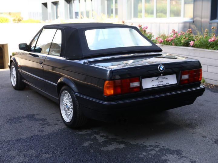 BMW Série 3 BMW 320I CABRIOLET E30 WORLDINE / 117000 KMS / BVM / VOLANT M Noir - 2