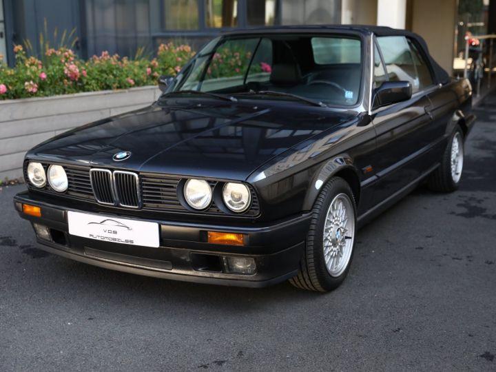 BMW Série 3 BMW 320I CABRIOLET E30 WORLDINE / 117000 KMS / BVM / VOLANT M Noir - 1