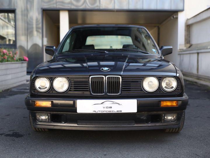 BMW Série 3 BMW 320I CABRIOLET E30 WORLDINE / 117000 KMS / BVM / VOLANT M Noir - 5