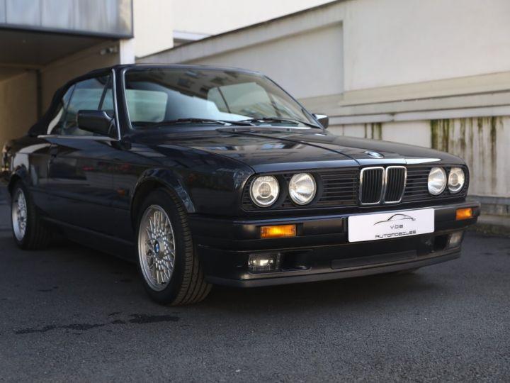 BMW Série 3 BMW 320I CABRIOLET E30 WORLDINE / 117000 KMS / BVM / VOLANT M Noir - 7