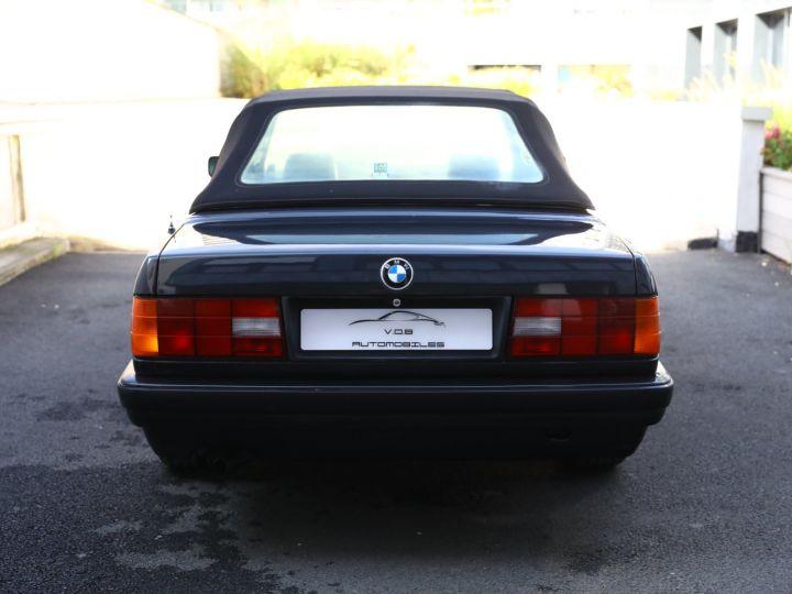 BMW Série 3 BMW 320I CABRIOLET E30 WORLDINE / 117000 KMS / BVM / VOLANT M Noir - 11