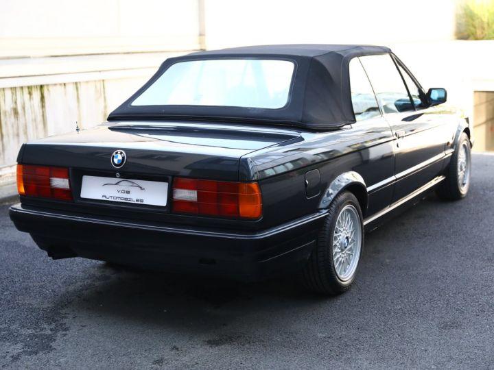 BMW Série 3 BMW 320I CABRIOLET E30 WORLDINE / 117000 KMS / BVM / VOLANT M Noir - 12