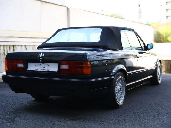 BMW Série 3 BMW 320I CABRIOLET E30 WORLDINE / 117000 KMS / BVM / VOLANT M Noir - 13
