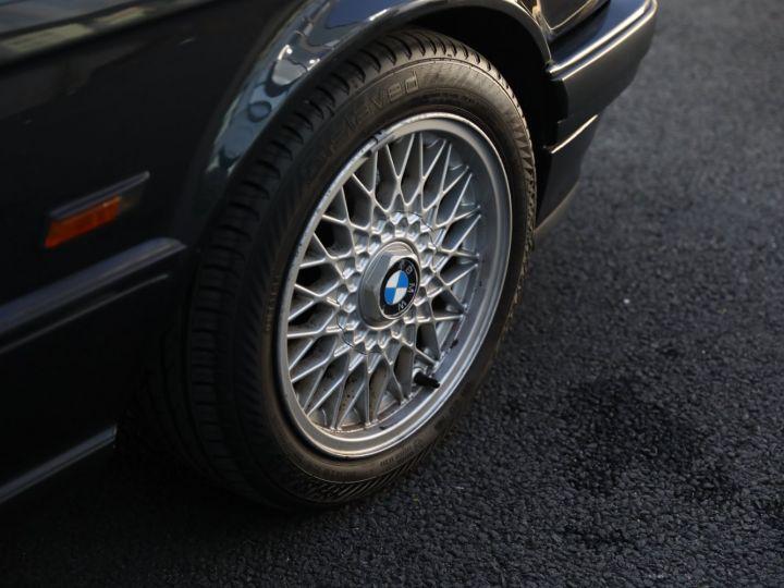 BMW Série 3 BMW 320I CABRIOLET E30 WORLDINE / 117000 KMS / BVM / VOLANT M Noir - 19