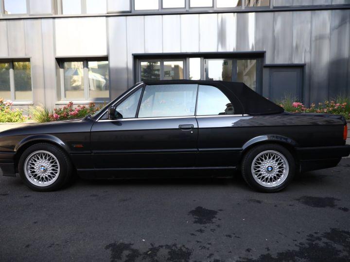 BMW Série 3 BMW 320I CABRIOLET E30 WORLDINE / 117000 KMS / BVM / VOLANT M Noir - 33