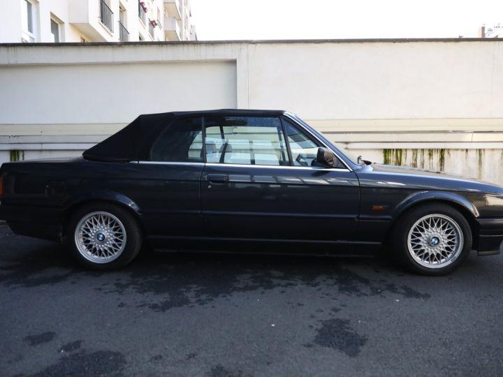 BMW Série 3 BMW 320I CABRIOLET E30 WORLDINE / 117000 KMS / BVM / VOLANT M Noir - 34